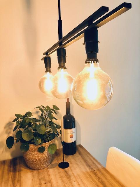 hergebruikte lamp