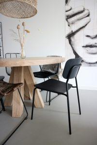 minimalistische stoelen